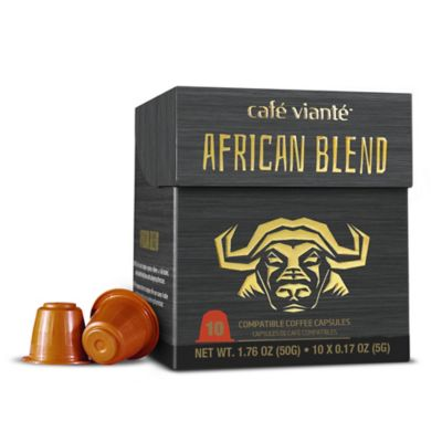 Spressoluxe® 10-Count African Blend Nespresso® Compatible Espresso Capsules