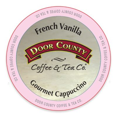 12-Count Door County Coffee & Tea Co. French Vanilla Cappuccino for Single Serve Coffee Makers