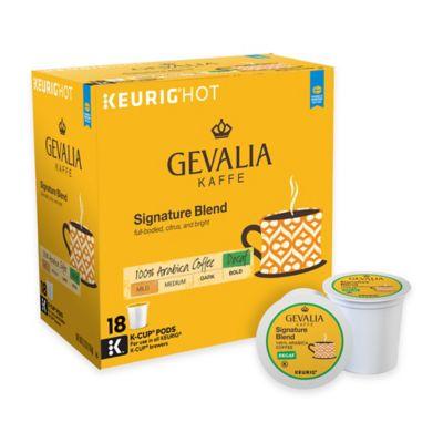 Keurig® K-Cup® Pack 18-Count Gevalia Kaffe Signature Blend Decaf