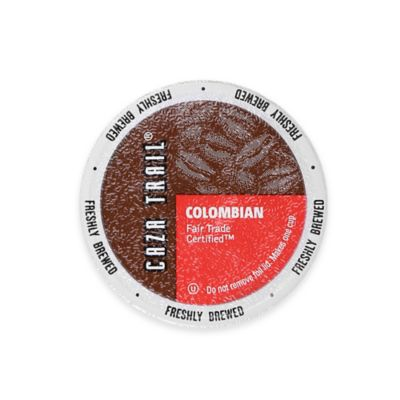 24-Count Caza Trail™ Colombian Fair Trade Certified™ Coffee for Single Serve Coffee Makers