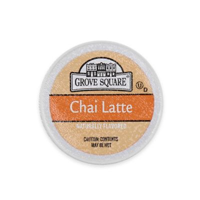 24-Count Grove Square™ Chai Latte for Single Serve Coffee Makers