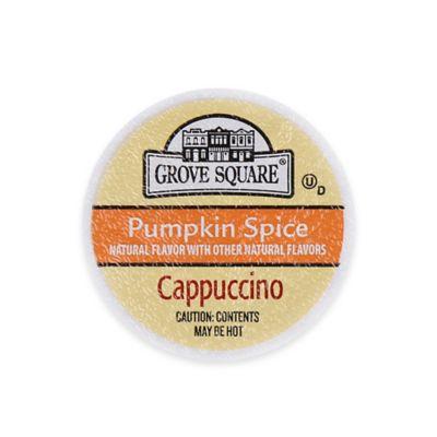 24-Count Grove Square™ Pumpkin Spice Cappuccino for Single Serve Coffee Makers