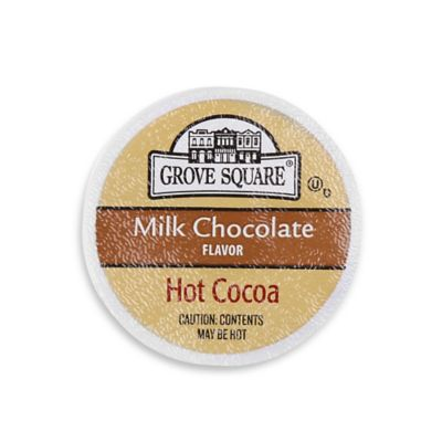 24-Count Grove Square™ Milk Chocolate Hot Cocoa for Single Serve Coffee Makers