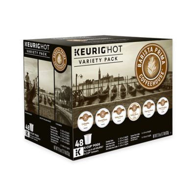 image of Keurig® K-Cup® Pack 48-Count Barista Prima Coffeehouse® Variety Pack