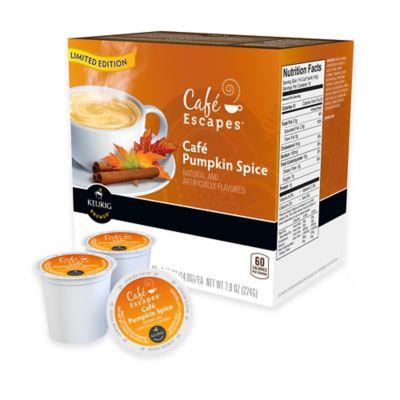 Keurig® K-Cup® Pack 16-Count Café Escapes® Café Pumpkin Spice Coffee