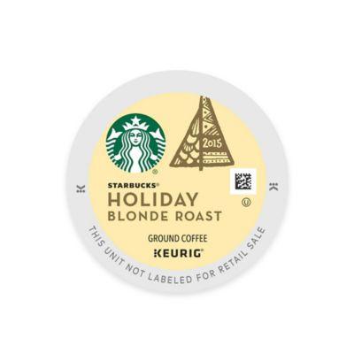 Keurig® K-Cup® Pack 16-Count Starbucks® Holiday Blonde Roast 2015 Coffee