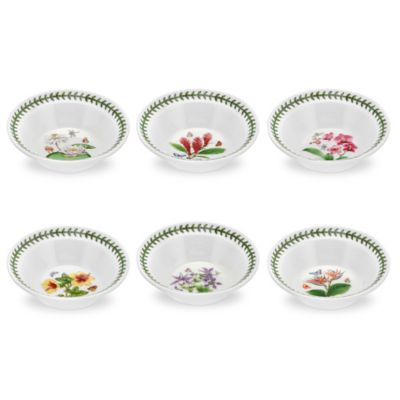 Portmeirion® Exotic Botanic Garden Assorted Oatmeal/Soup Bowls (Set of 6)