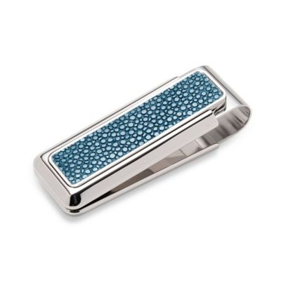 M-Clip Bayside Stingray Heat Tempered Spring Money Clip in Black