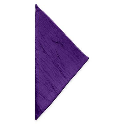 Delano Napkins in Purple (Set of 4)