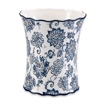 Ceramic Bath Wastebasket