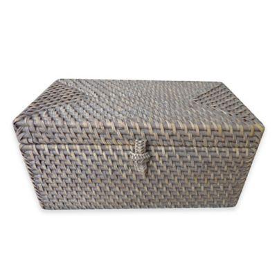 Grey Lidded Box