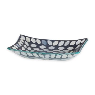 India Ink™ Snake Skin Mosaic Soap Dish
