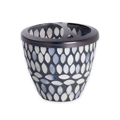 India Ink™ Snake Skin Mosaic Toothbrush Holder