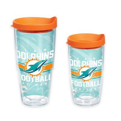 Tervis® NFL Miami Dolphins Gridiron 16 oz. Wrap Tumbler with Lid
