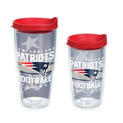 Tervis® NFL New England Patriots Gridiron 16 oz. Wrap Tumbler with Lid
