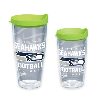 Tervis® NFL Seattle Seahawks Gridiron 16 oz. Wrap Tumbler with Lid