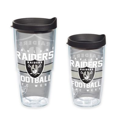 Tervis® NFL Oakland Raiders Gridiron 16 oz. Wrap Tumbler with Lid