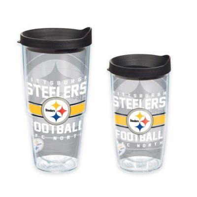 Tervis® NFL Pittsburgh Steelers Gridiron 16 oz. Wrap Tumbler with Lid