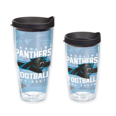Tervis® NFL Carolina Panthers Gridiron 16 oz. Wrap Tumbler with Lid