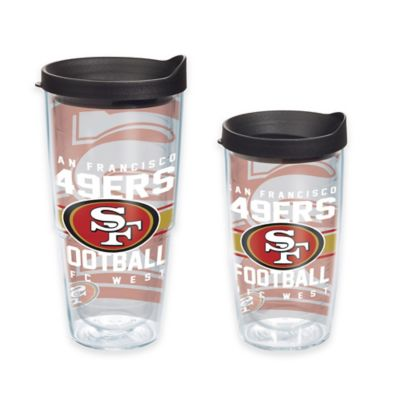 Tervis® NFL San Francisco 49ers Gridiron 16 oz. Wrap Tumbler with Lid