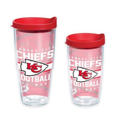 Tervis® NFL Kansas City Chiefs Gridiron 16 oz. Wrap Tumbler with Lid