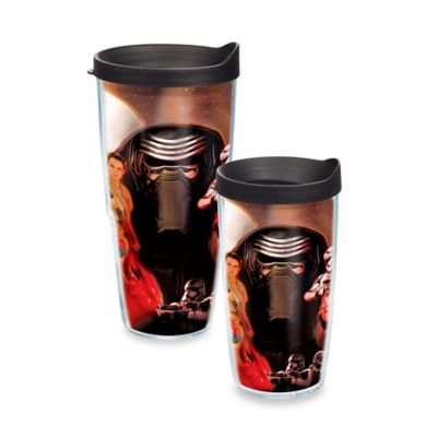 "Tervis® Star Wars™ ""Episode VII – The Force Awakens"" Collage 10 oz. Wavy Tumbler with Lid"