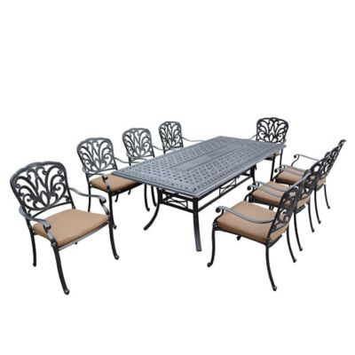Clairmont 9-Piece Outdoor Dining Set