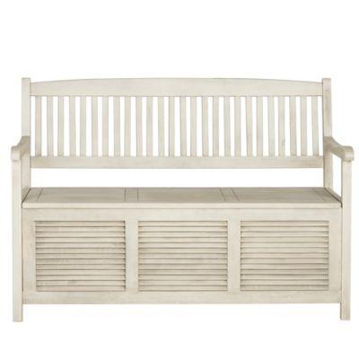 Safavieh Brisbane Bench in White