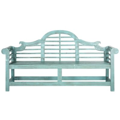 Safavieh Khara Bench in Beach House Blue