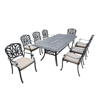 Oakland Living Clairmont 9-Piece Dining Set
