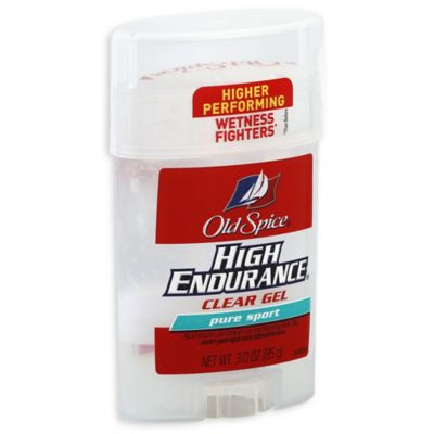 Old Spice® High Endurance® 3 oz. Clear Gel Anti-Perspirant and Deodorant in Pure Sport
