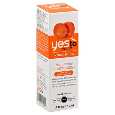 Yes To® Carrots 1.7 oz. Fragrance Free Daily Facial Moisturizer SPF 15