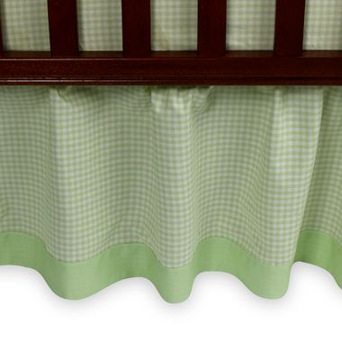 Tadpoles™ Green Bed Skirt