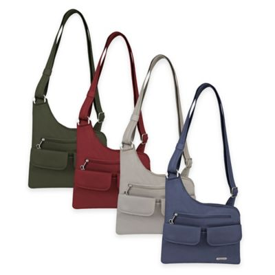Travelon® Anti-Theft Classic Crossbody Bag in Midnight