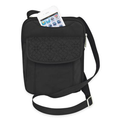 Travelon® Anti-Theft Signature Slim Pouch in Black