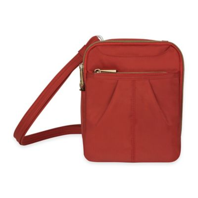 Travelon® Anti-Theft Signature Day Bag in Cayenne