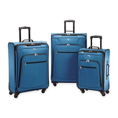 American Tourister® Pop Plus 3-Piece Spinner Luggage Set in Orange