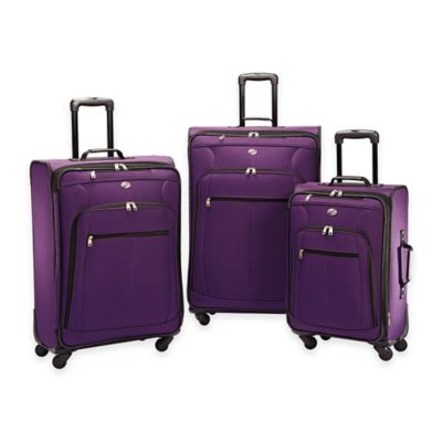 American Tourister® Pop Plus 3-Piece Spinner Luggage Set in Purple