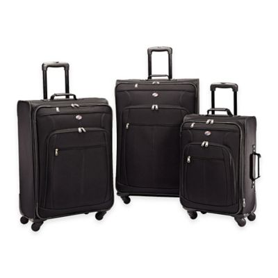 American Tourister® Pop Plus 3-Piece Spinner Luggage Set in Black