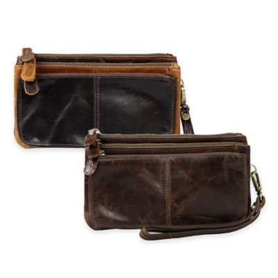 Annette Ferber Journey Collection Verona Clutch in Brown