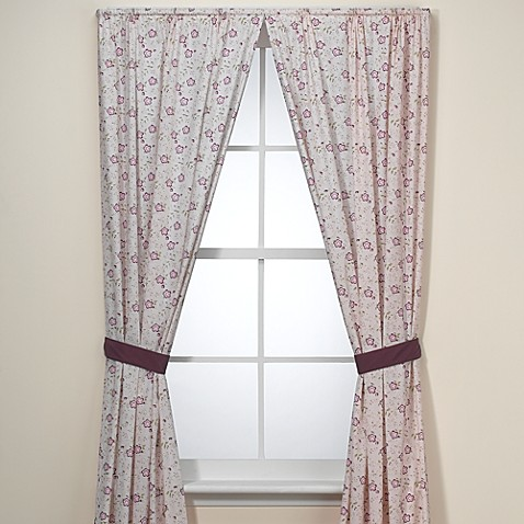 CoCaLo™ Baby Sugar Plum 84-Inch Window Panel Pair