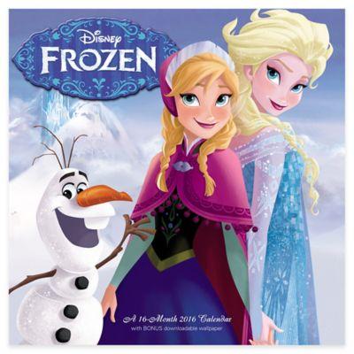"""Disney® """"Frozen"""" 16-Month 2016 Calendar"""