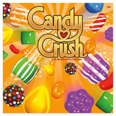 Candy Crush 2016 Wall Calendar