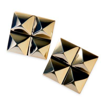Gunmetal Stud Earrings