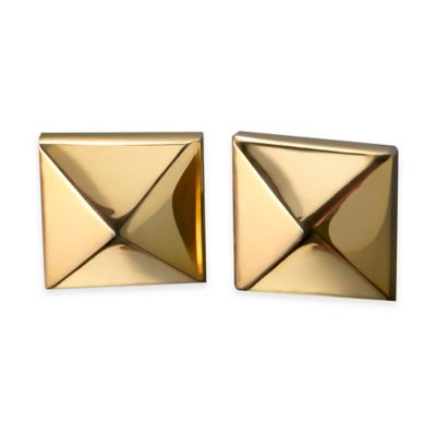 Gold Ella Stud Earrings