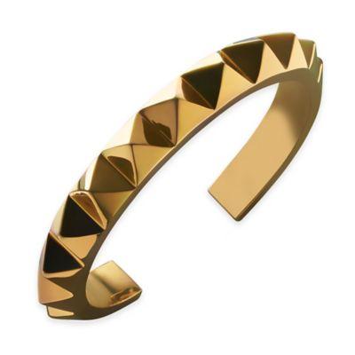 Rebel Gunmetal Ella Stud Cuff Bracelet