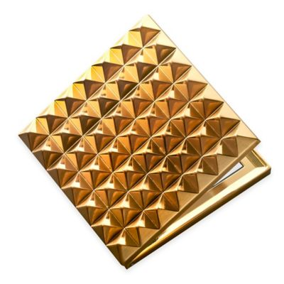 Waterford® Rebel Gold Compact Mirror