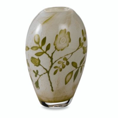 Floating Flowers 7 1/8-Inch Vase