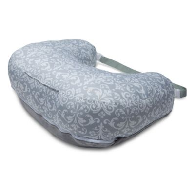 Boppy® 2-Sided Breastfeeding Pillow in Kensington Grey