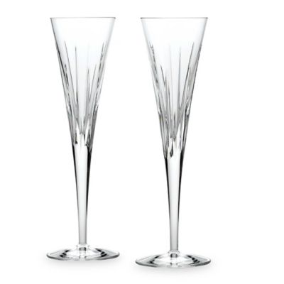 Reed & Barton® Miller Rogaska Soho 6-Ounce Flutes (Set of 2)